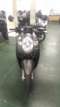 new scoopy stylish black brown