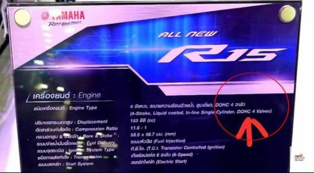 spesifikasi-mesin-Yamaha-All-New-R15-VVA-Thailand-DOHC