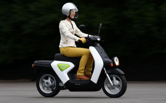 Skuter-listrik-Honda-EV