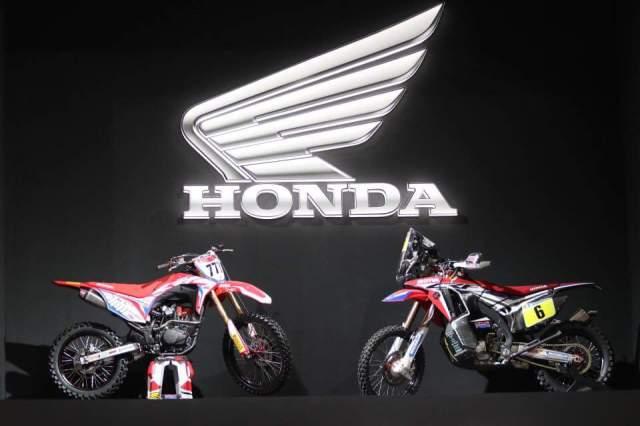 Honda CRF150 Bersanding dengan CRF250 Rally