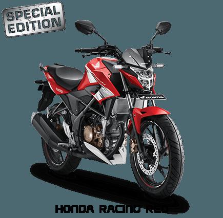 warna baru CB150R racing red