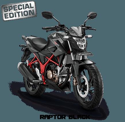 warna baru CB150R raptor black