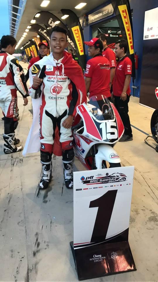 adenana juara TTC di Thailand