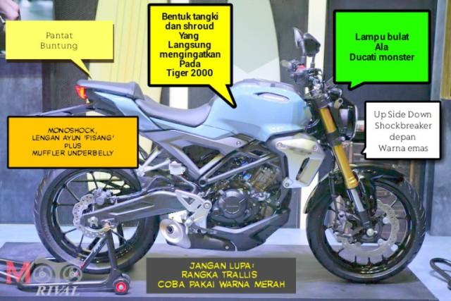 Desain New Honda Tiger