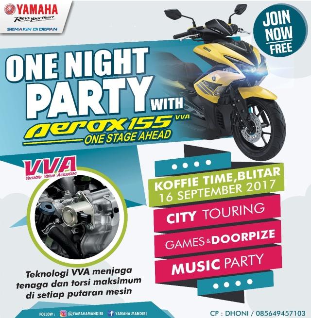 event yamaha Aerox 155 VVA