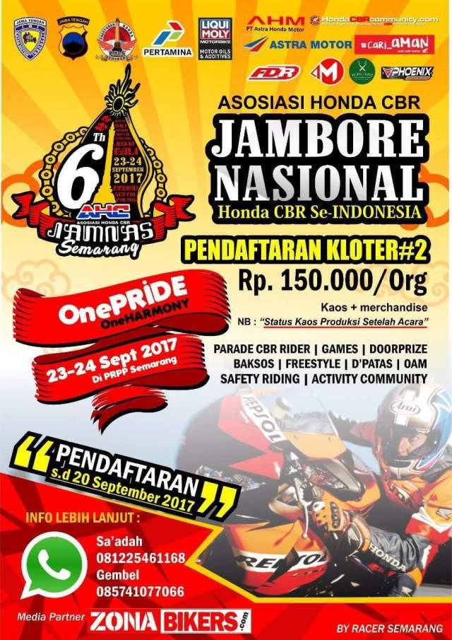 Jamnas CBR 6 Semarang