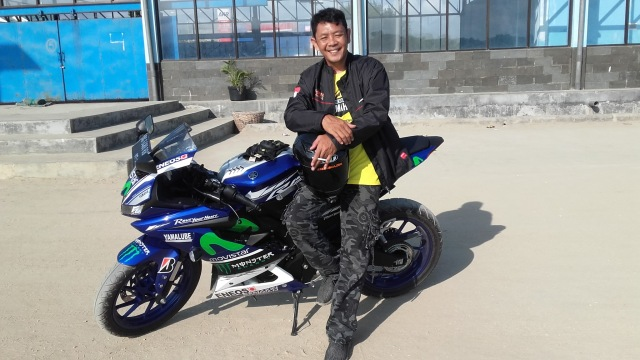 New R15 Boncengan