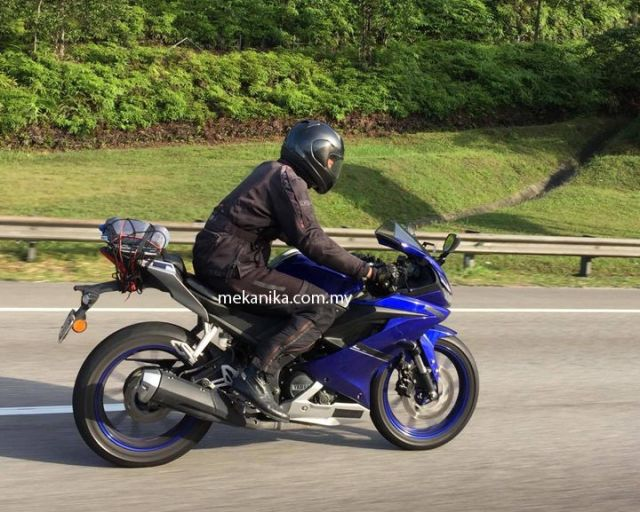 New R15 V3 test in Malaysia