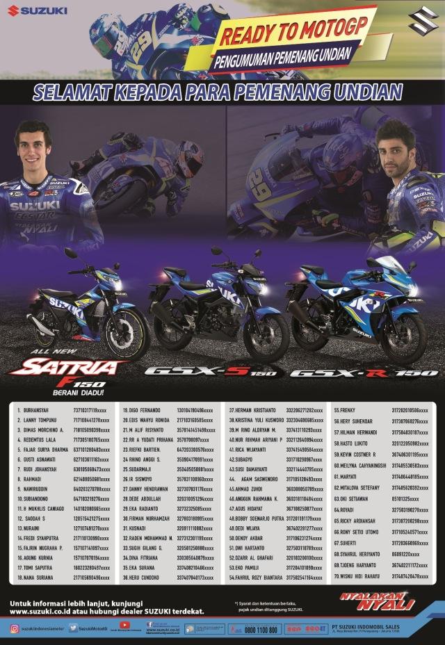 Pemenang Suzuki Ready To MotoGP 2017 (1)