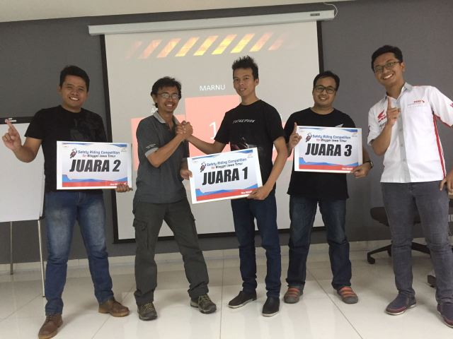 safety riding for blogger pertama di indonesia 1