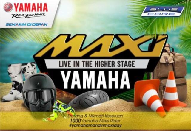 yamaha maxiday prigi