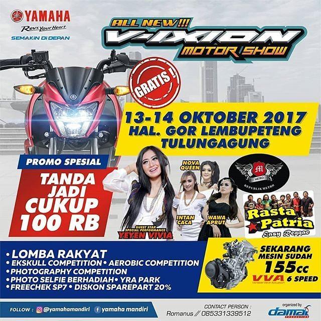 Vixion Motor Show Tulungagung