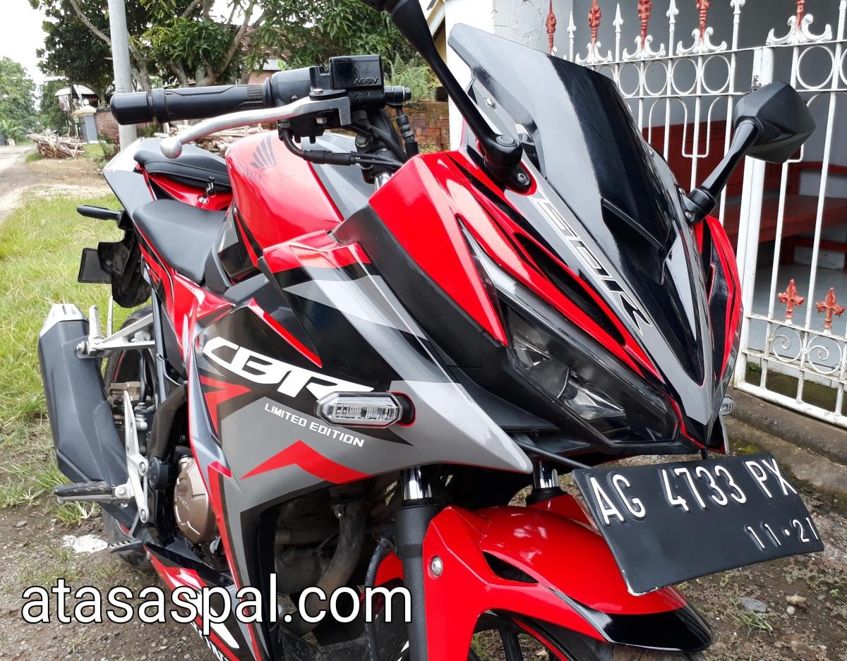 Modifikasi Minimalis CBR150R Racing Red Ini Keren Banget Atasaspal