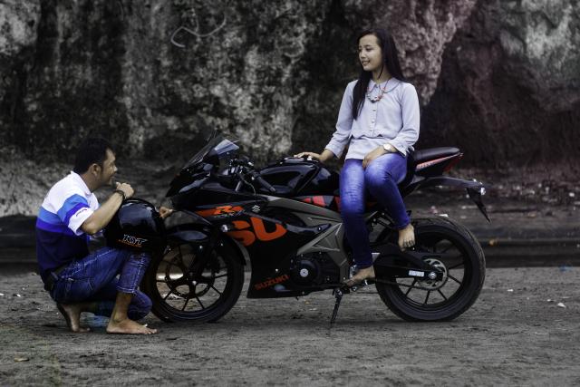GSX-R150 warna baru