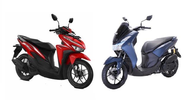 Honda_Vario_125_VS_Yamaha_Lexi_125