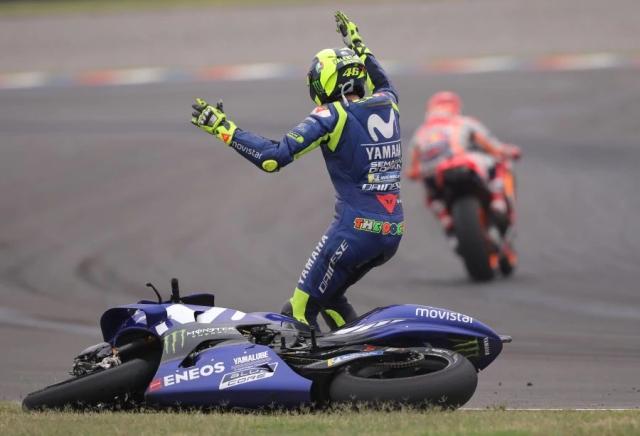 Rossi vs Marquez Argentina