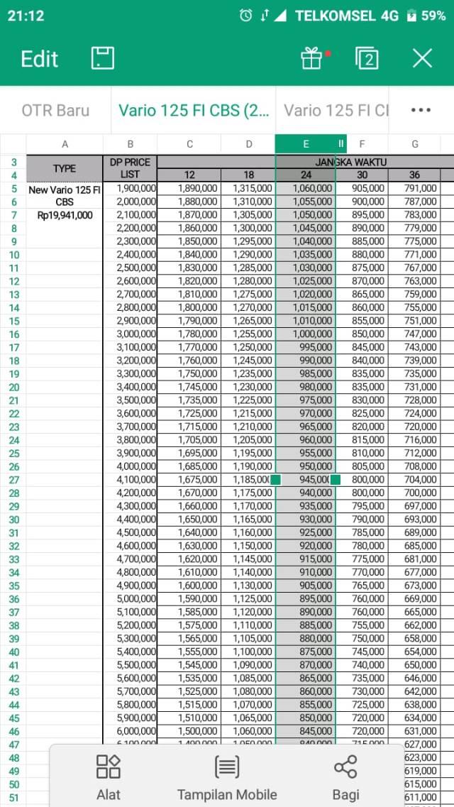Harga Vario 125 CBS Terbaru 2018 Ngawi