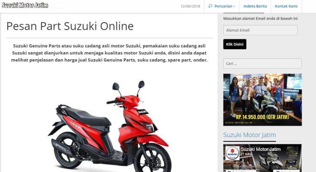beli online part suzuki