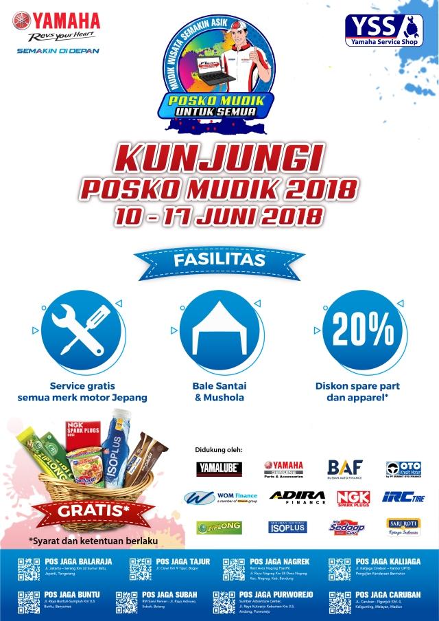 Posko Mudik Yamaha 2018