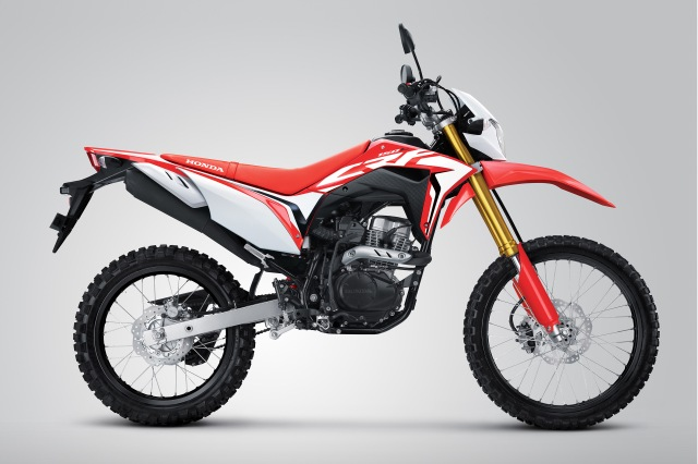 warna baru CRF150L.Extreme Red atasaspal.com