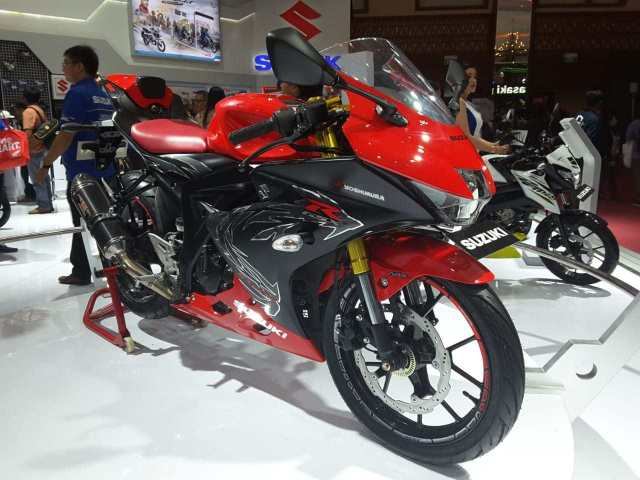 GSX-R150 USD modifikasi