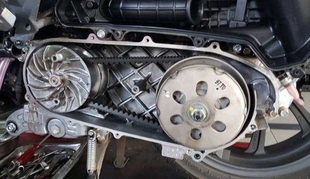 mengatasi-getar-CVT-Honda-PCX-Lokal