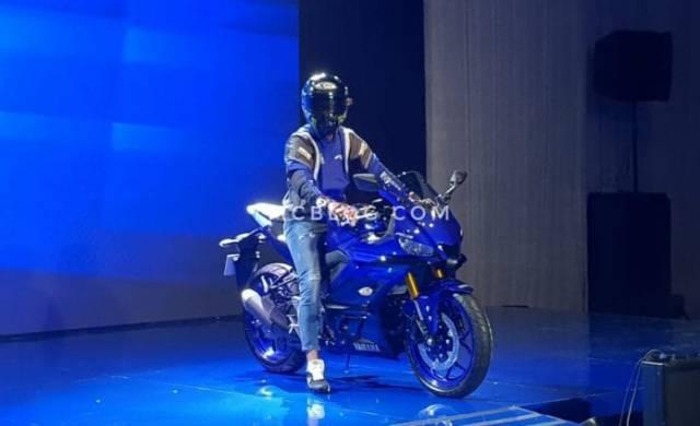 New R25 biru