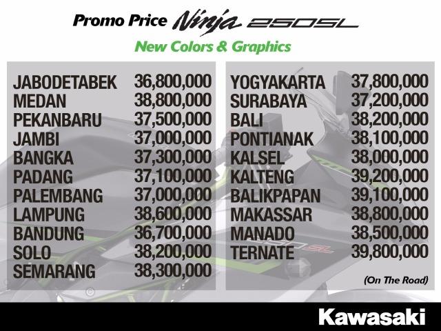 harga-ninja-250SL-seluruh-indonesia-atasaspal