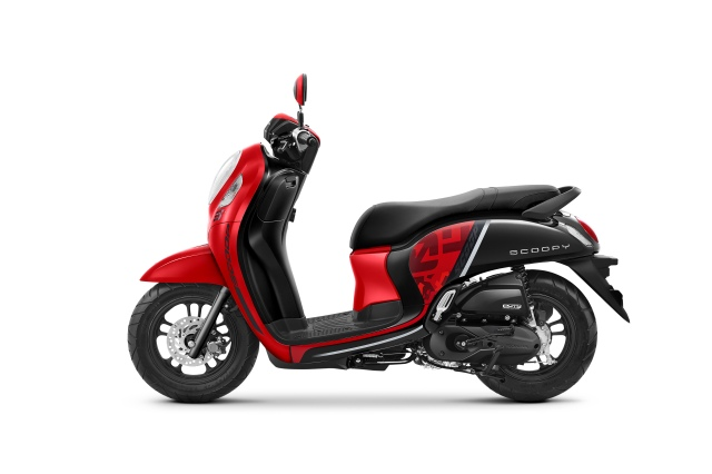 All New Scoopy 2020 Sporty Red