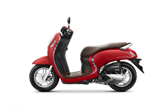All New Scoopy Stylish 2020 Red